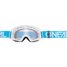 ONeal B-20 Goggle FLAT teal/white-radium
